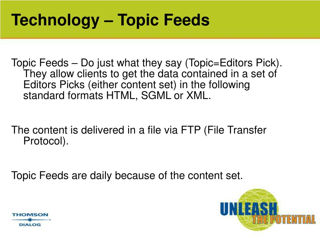 Technology – Topic Feeds