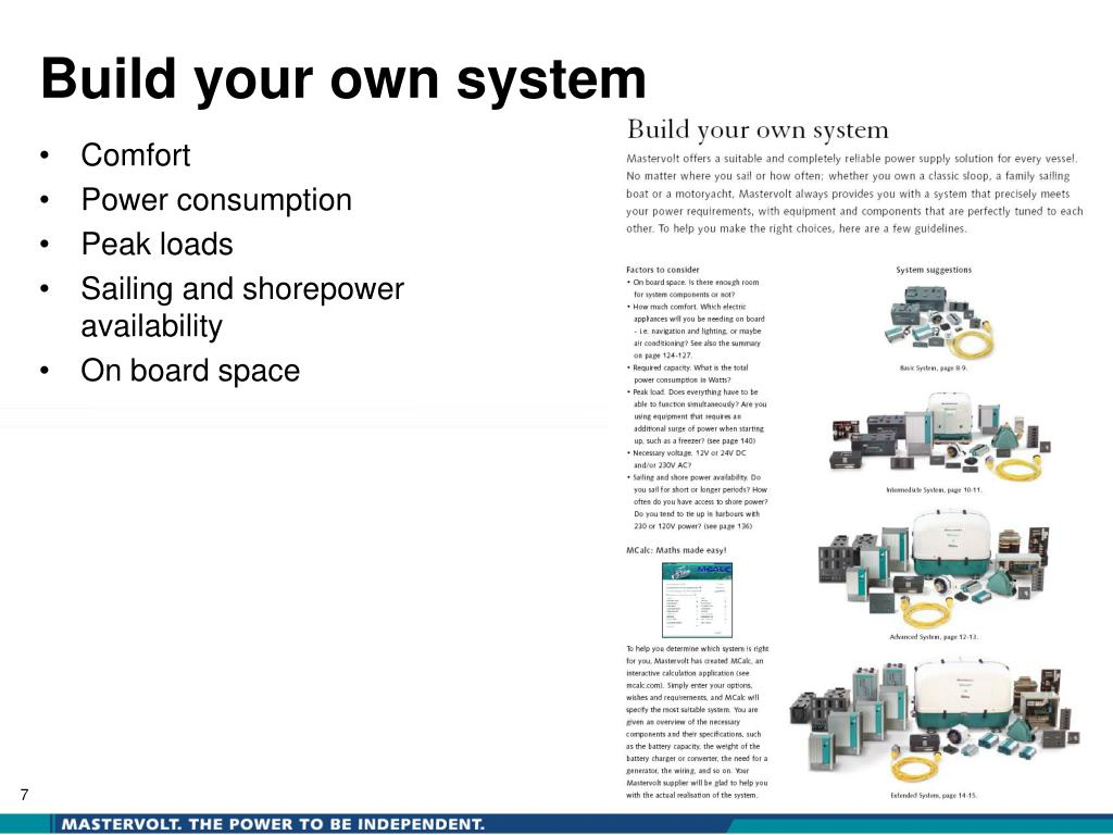 Build your own system