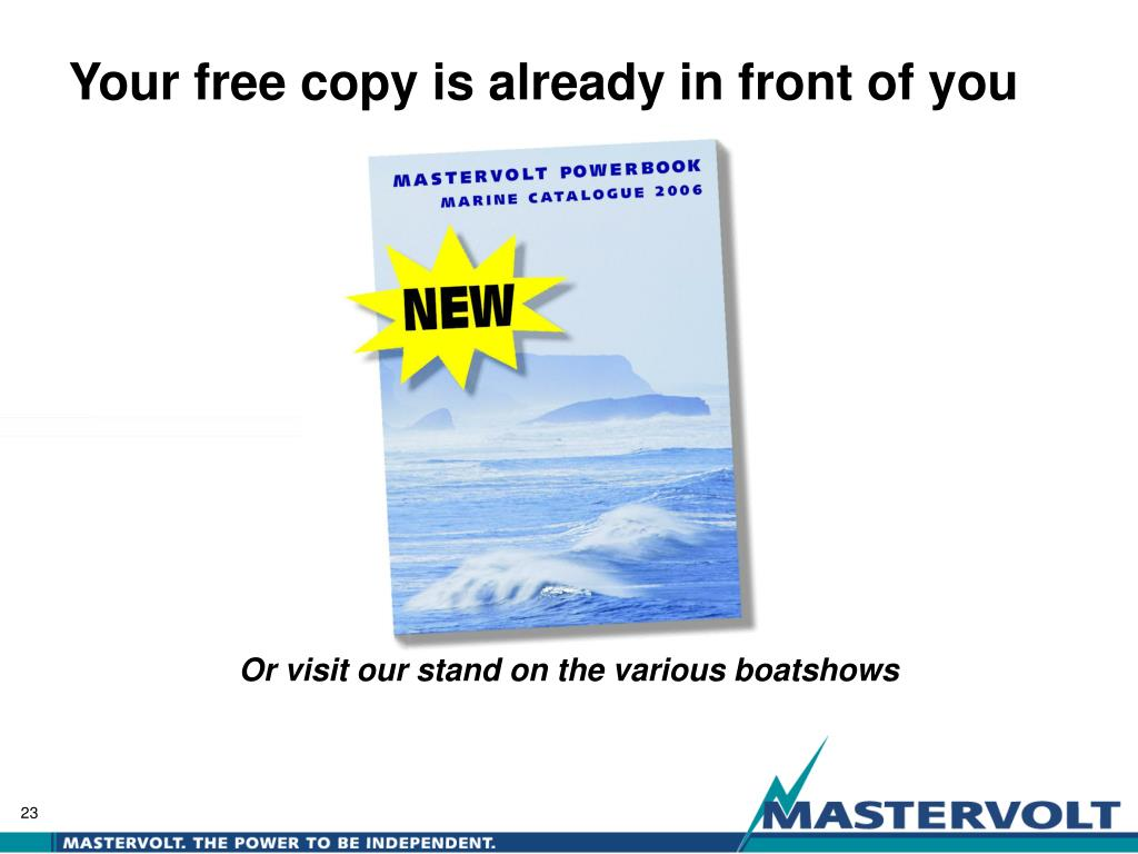 Your free copy is already in front of you