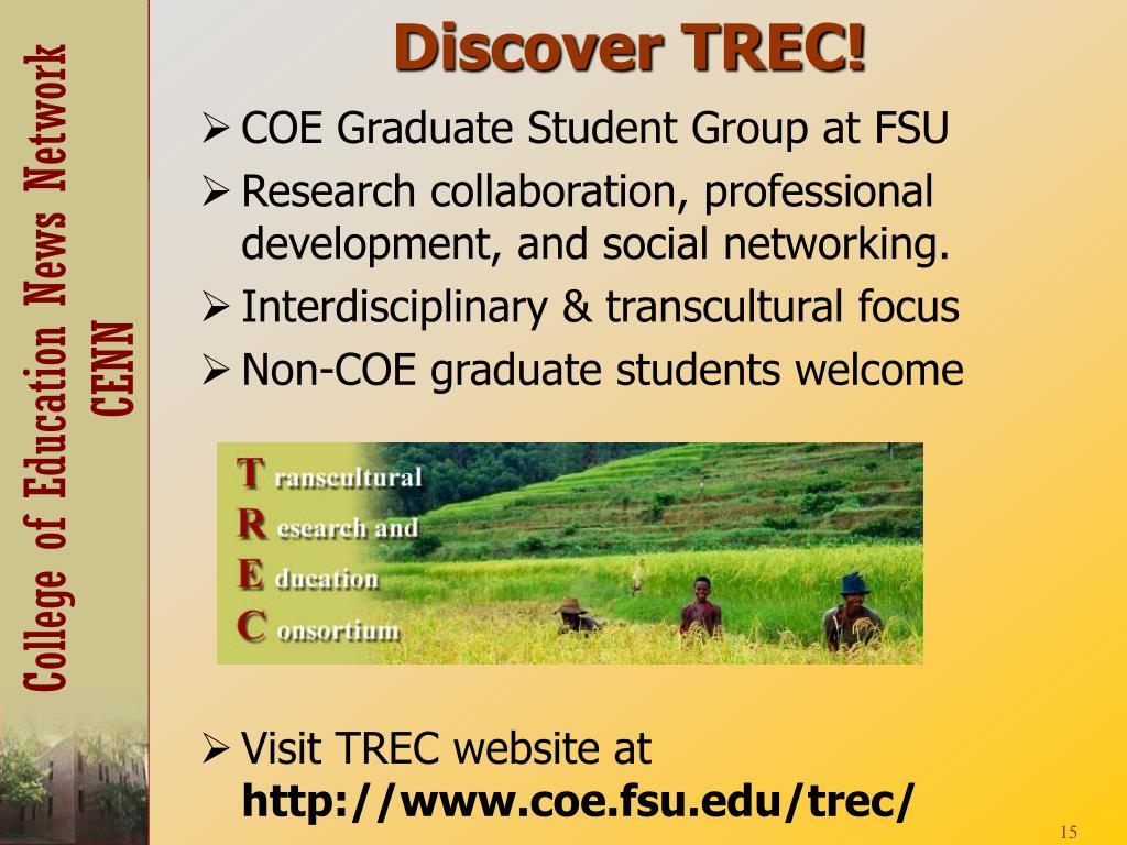 Discover TREC!