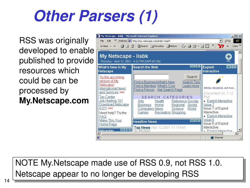Other Parsers (1)
