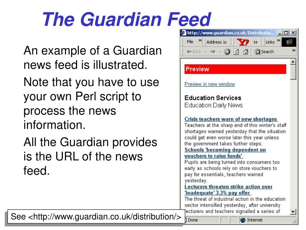 The Guardian Feed