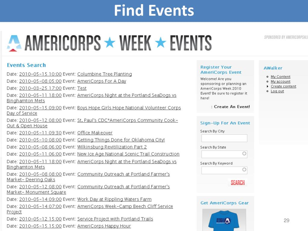 Find Events