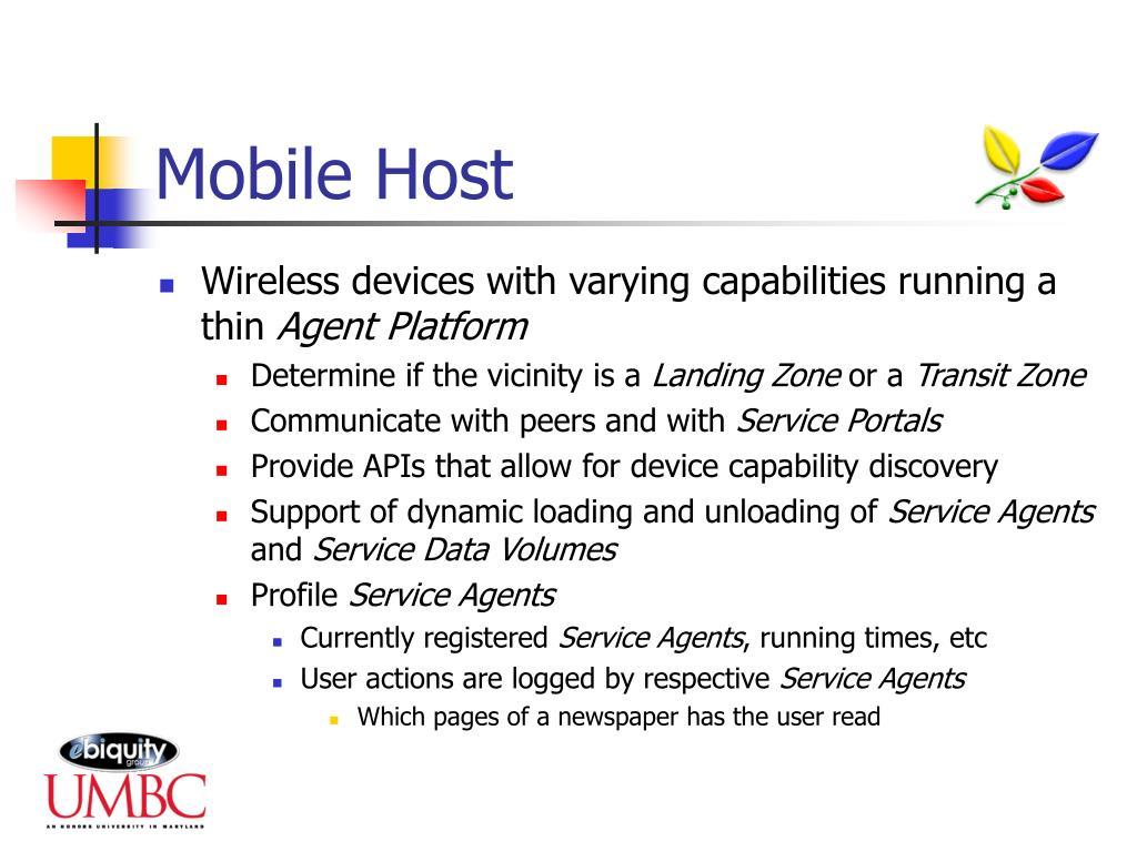 Mobile Host