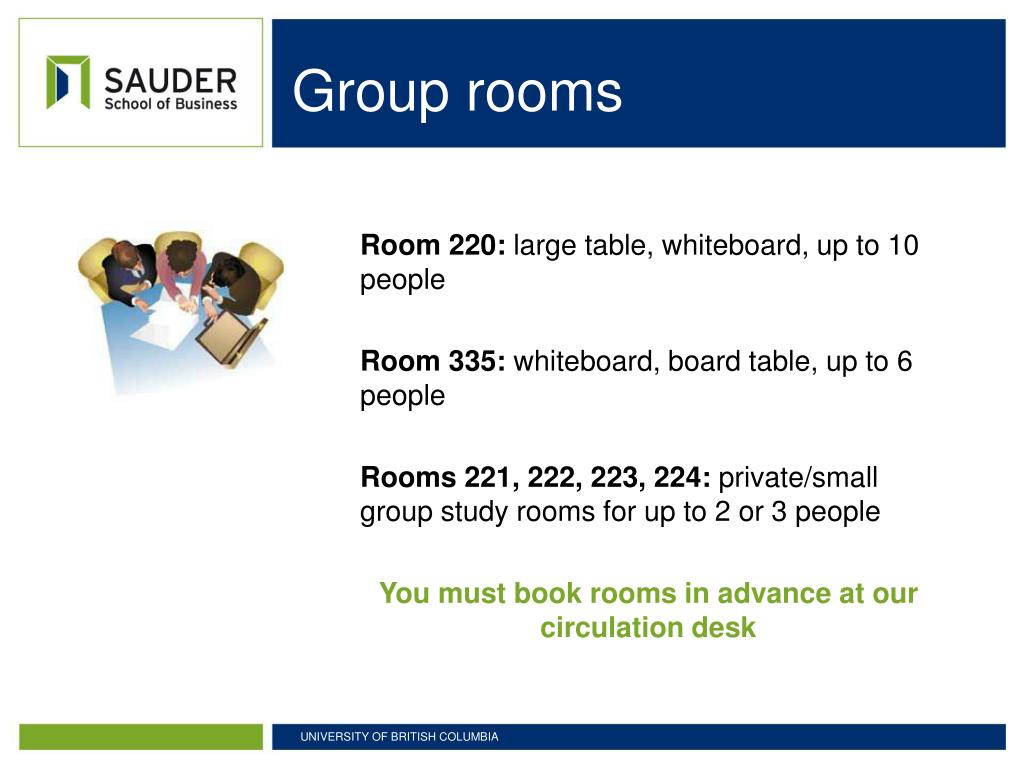 Group rooms