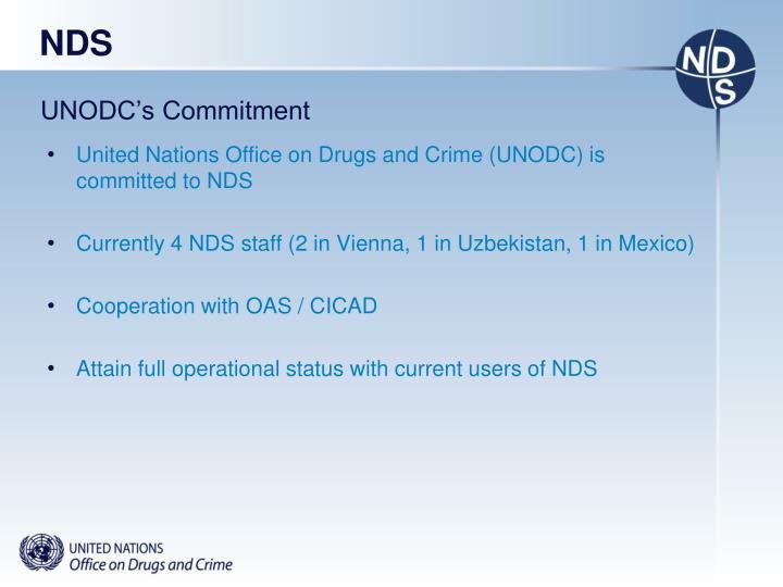 UNODC's Commitment