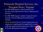peninsula hospital services inc newport news virginia2