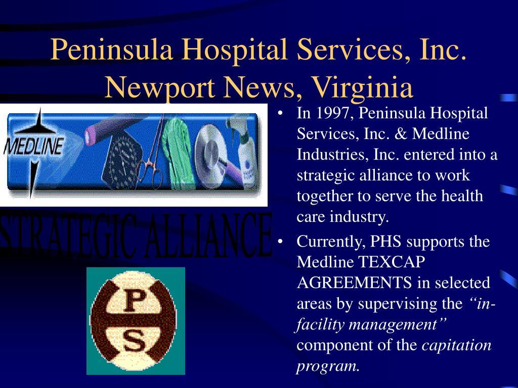 Peninsula Hospital Services, Inc.