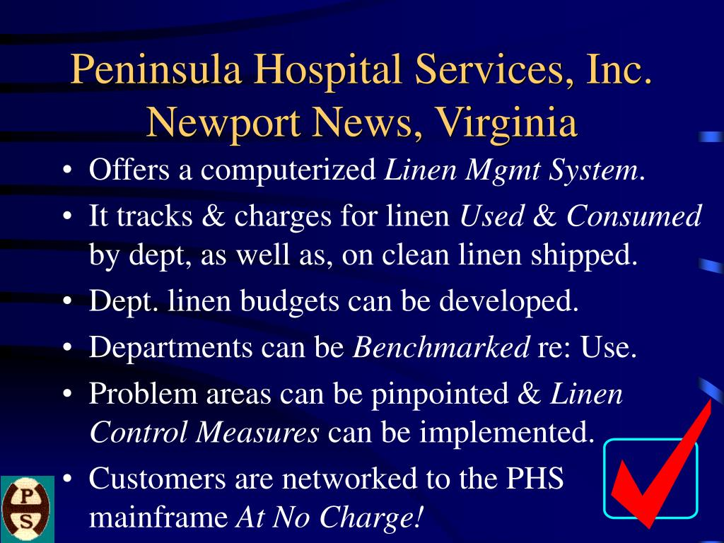 Peninsula Hospital Services, Inc. Newport News, Virginia
