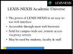 lexis nexis academic universe