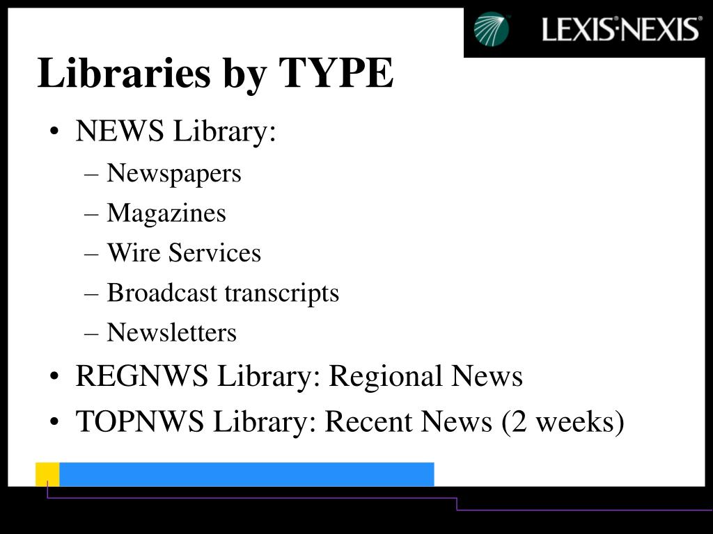 NEWS Library: