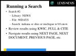 running a search40