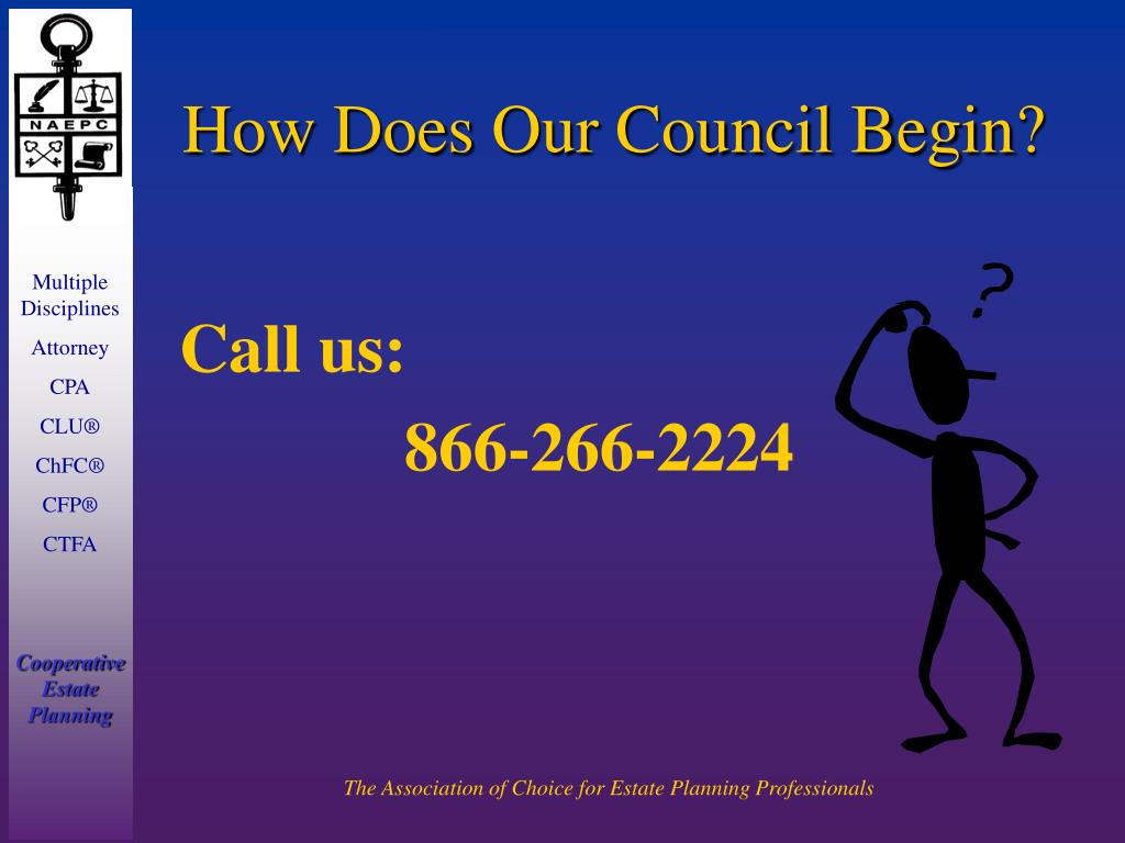 How Does Our Council Begin?