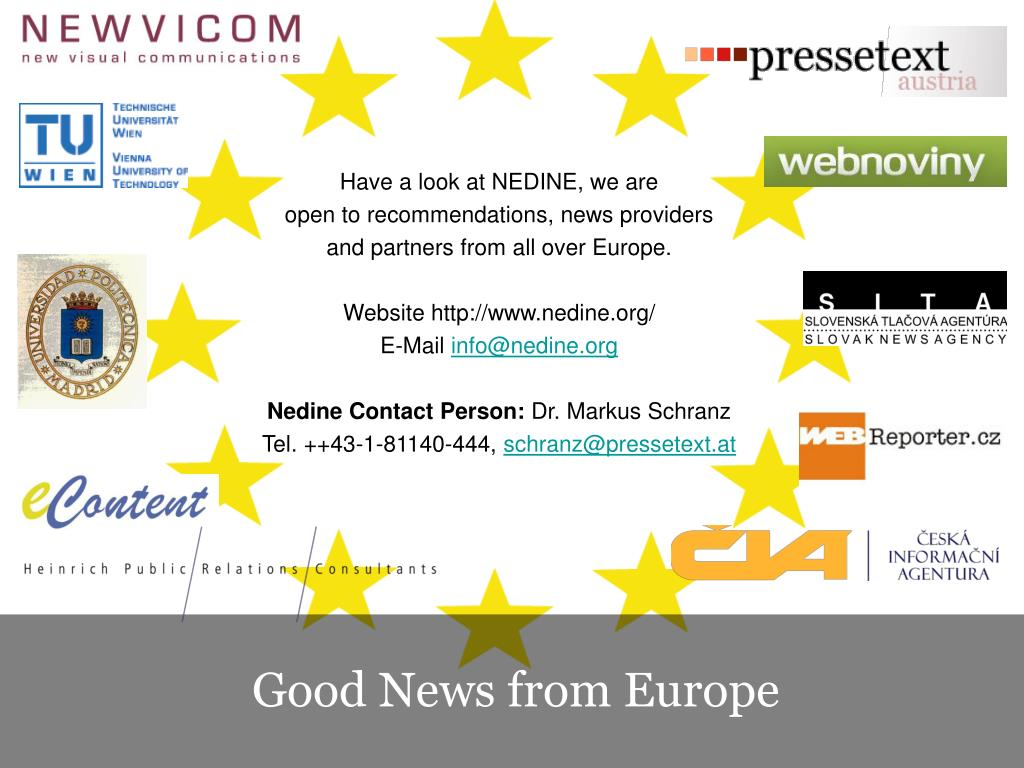Have a look at NEDINE, we are