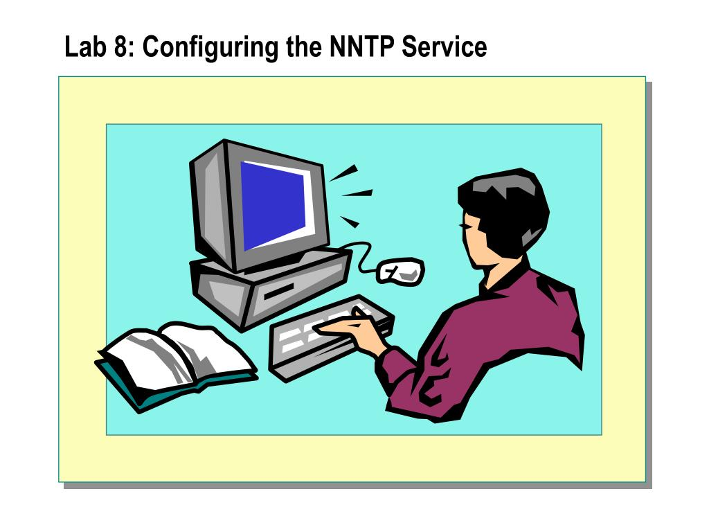 Lab 8: Configuring the NNTP Service