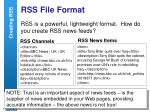 rss file format