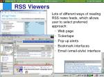 rss viewers