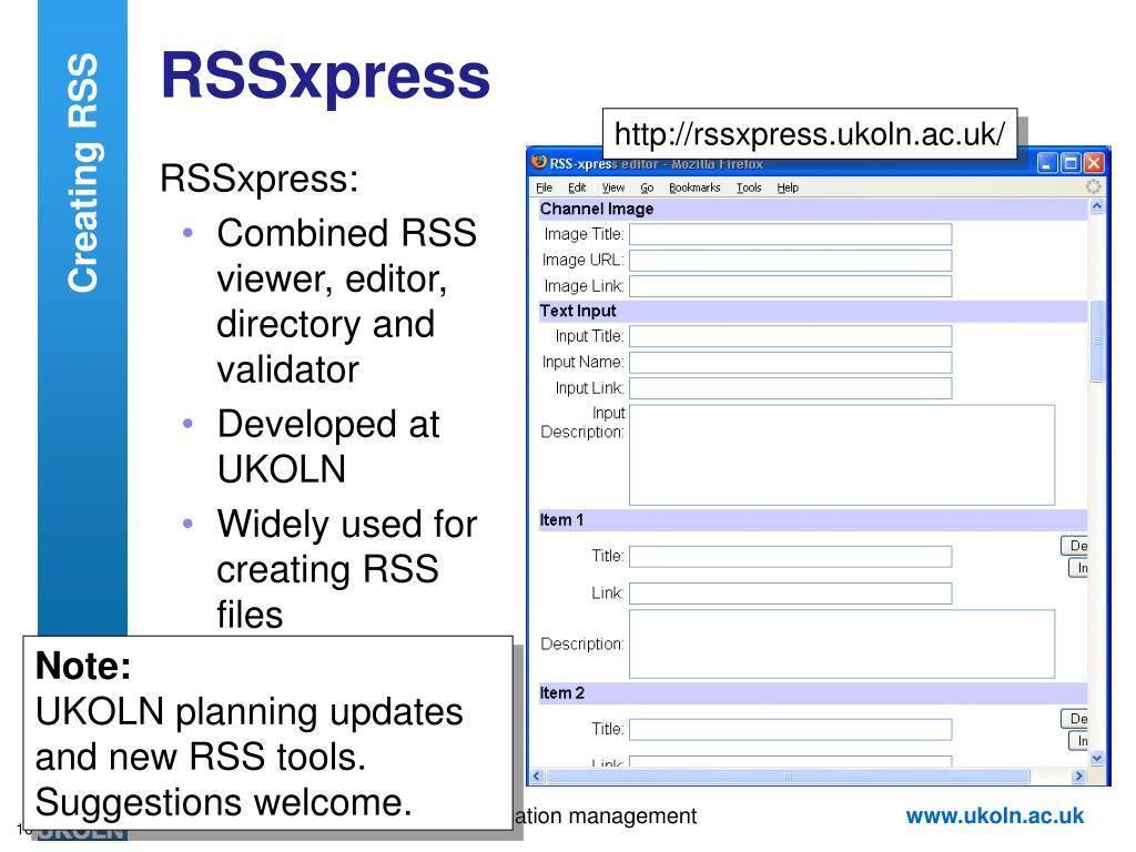 RSSxpress