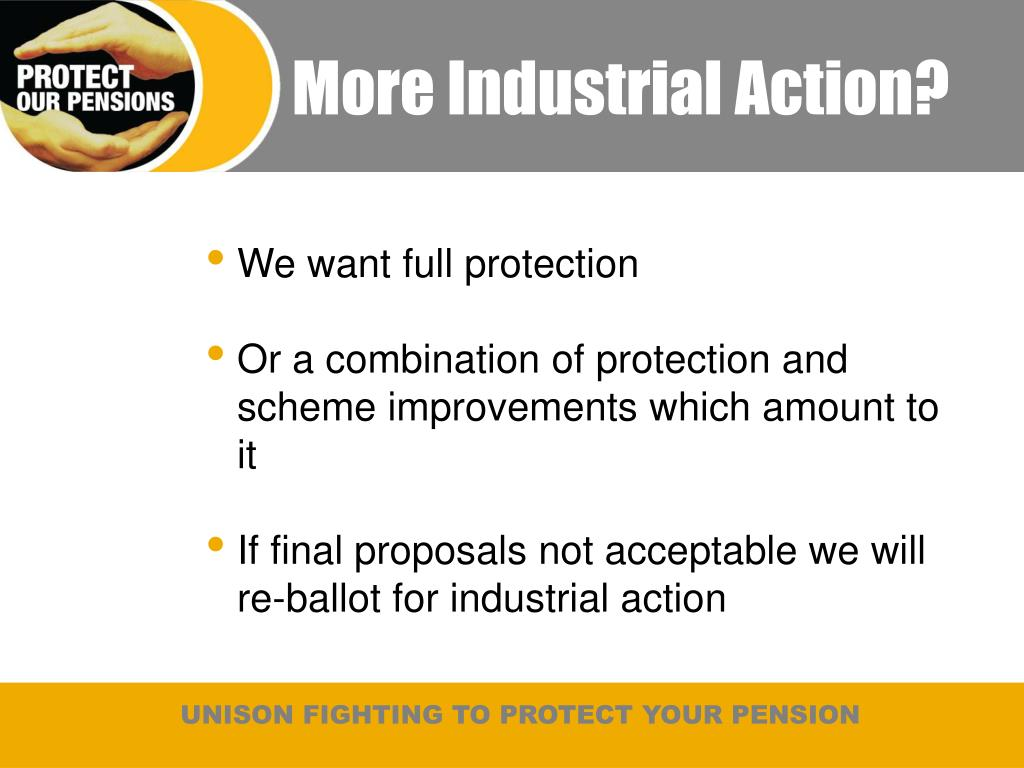 More Industrial Action?