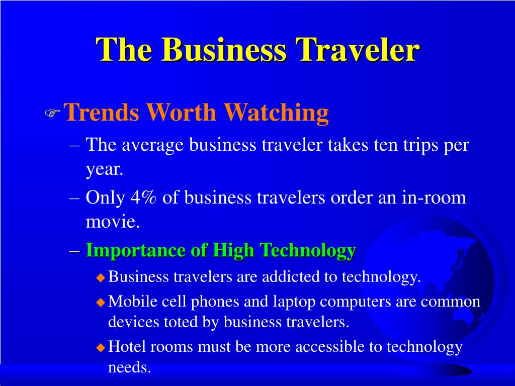 The Business Traveler