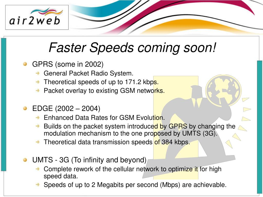 Faster Speeds coming soon!