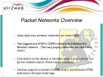 packet networks overview