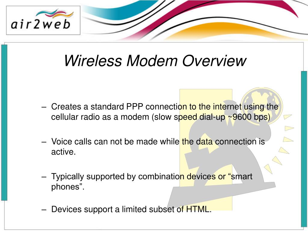 Wireless Modem Overview