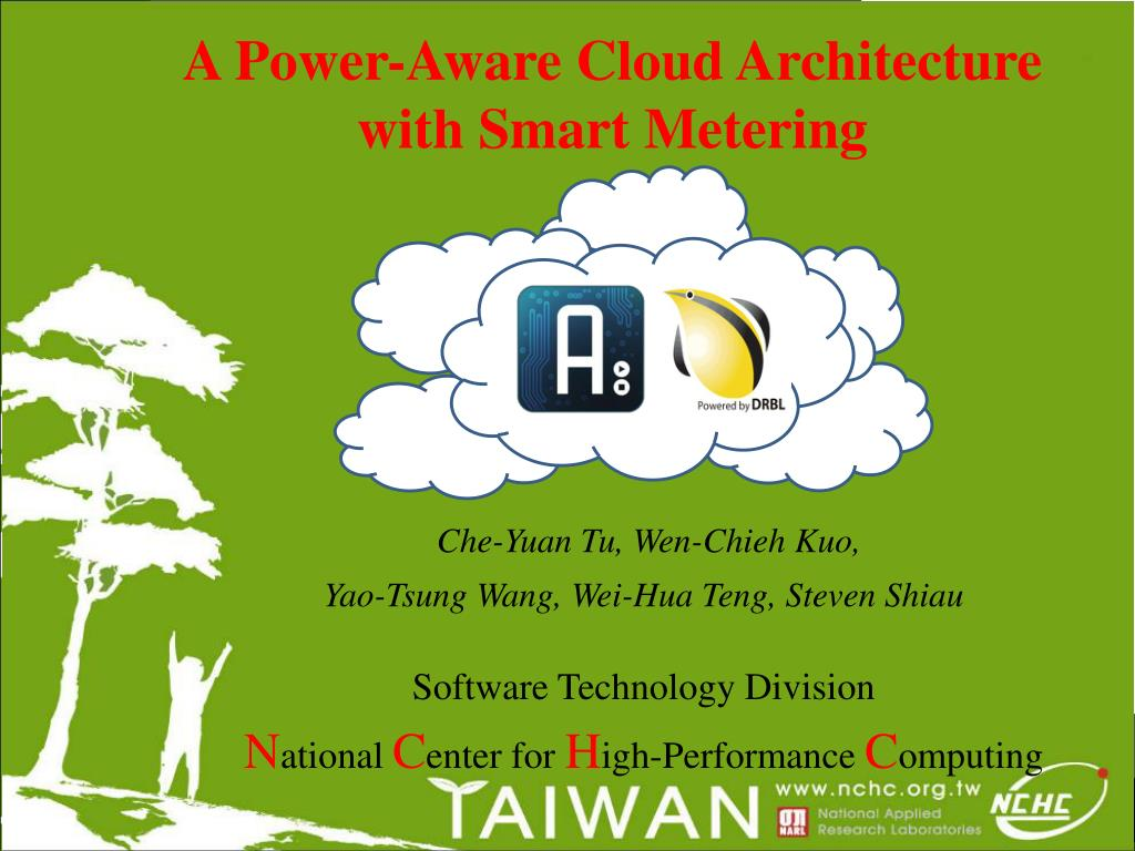 a power aware cloud architecture with smart metering