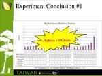 experiment conclusion 1