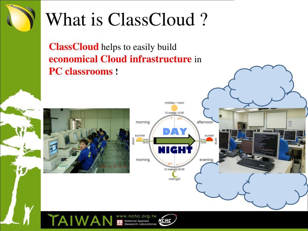 What is ClassCloud ?