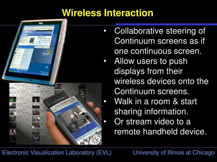 Wireless Interaction
