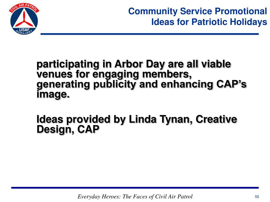 Community Service Promotional