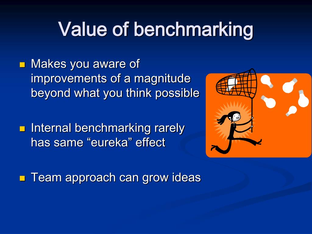Makes you aware of improvements of a magnitude beyond what you think possible