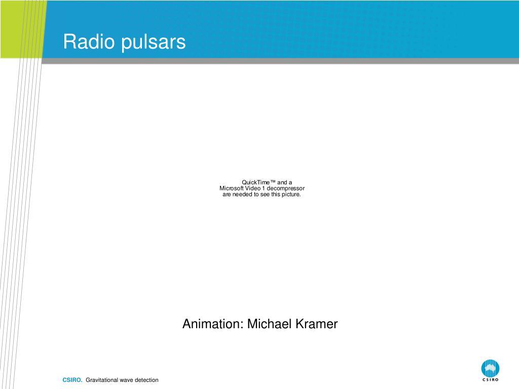 Radio pulsars