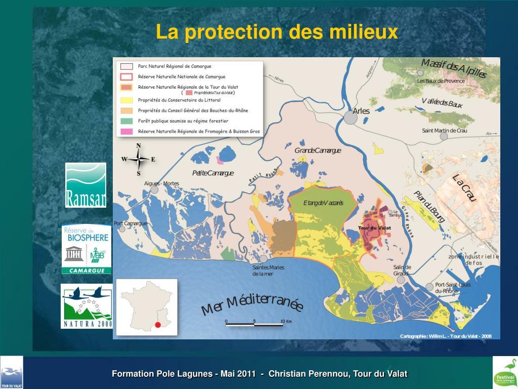 La protection des milieux