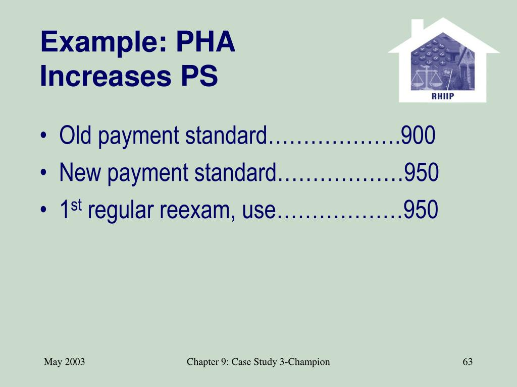 Example: PHA Increases PS