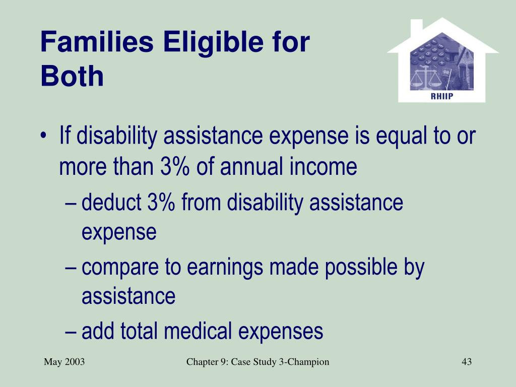 Families Eligible for Both