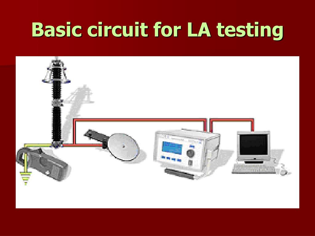 Basic circuit for LA testing