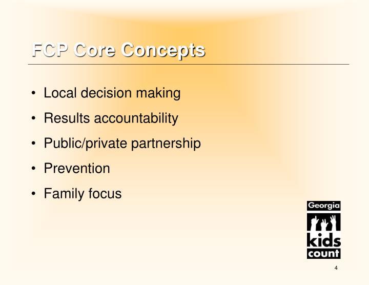 FCP Core Concepts