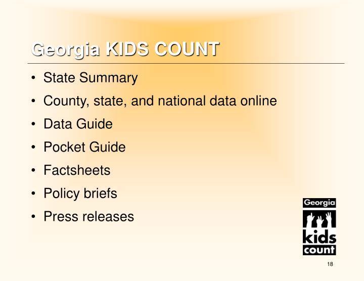 Georgia KIDS COUNT