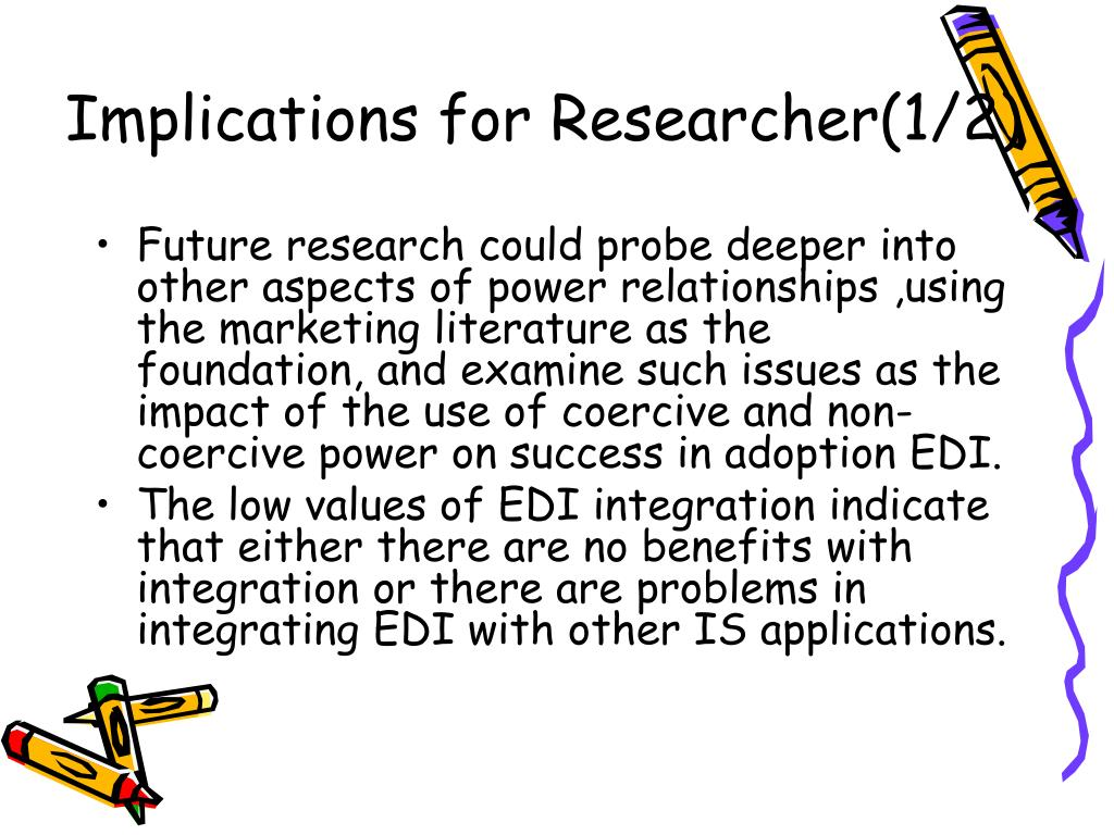 Implications for Researcher(1/2)