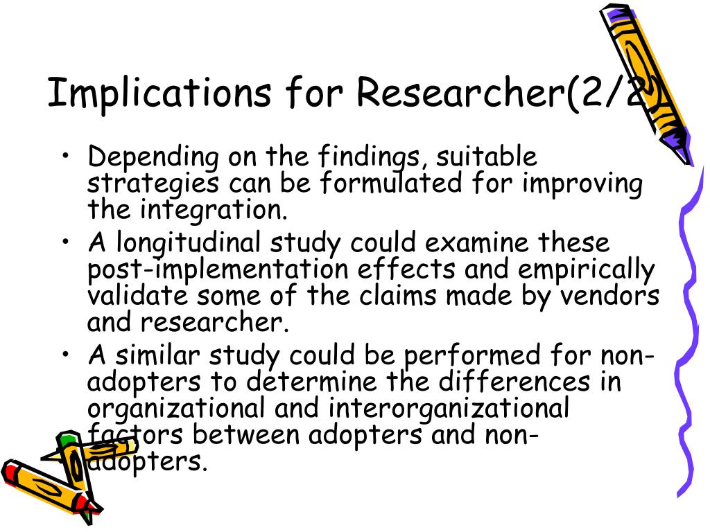 Implications for Researcher(2/2)