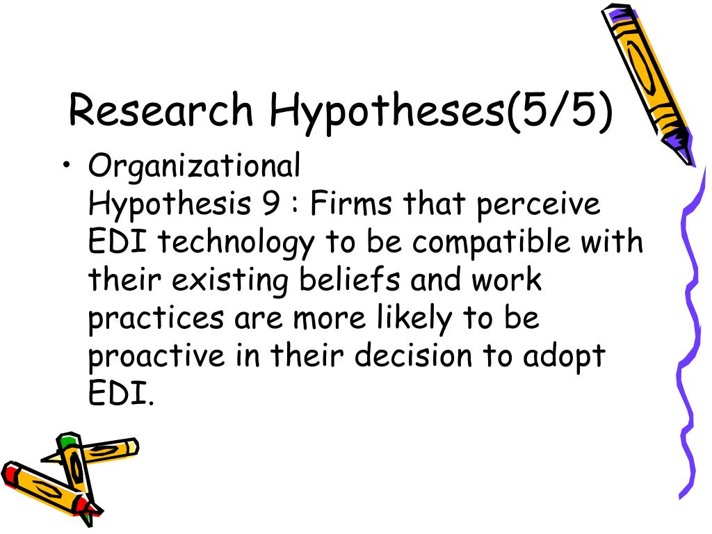 Research Hypotheses(5/5)