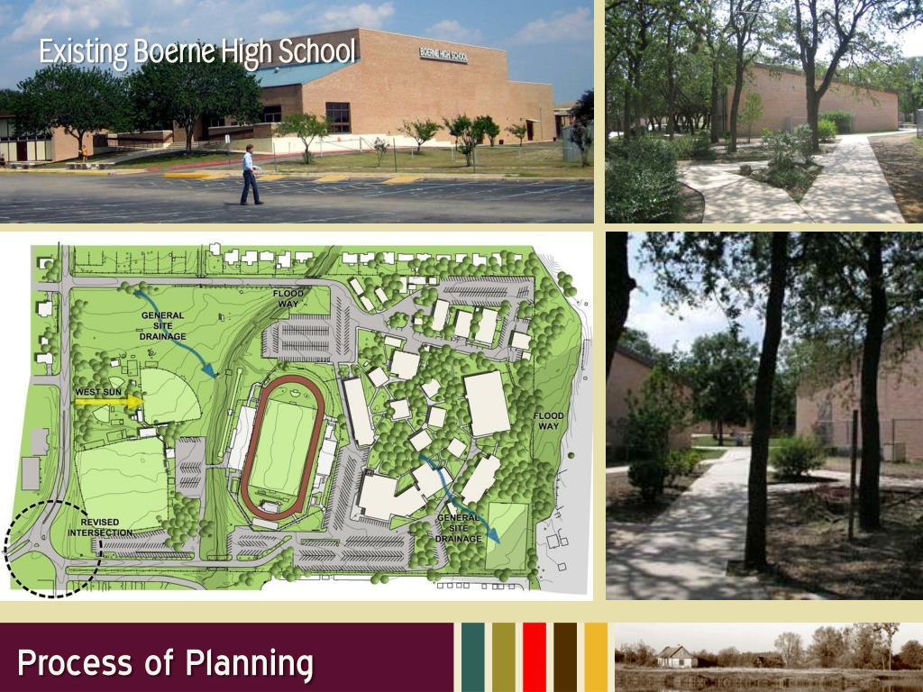 Existing Boerne High School