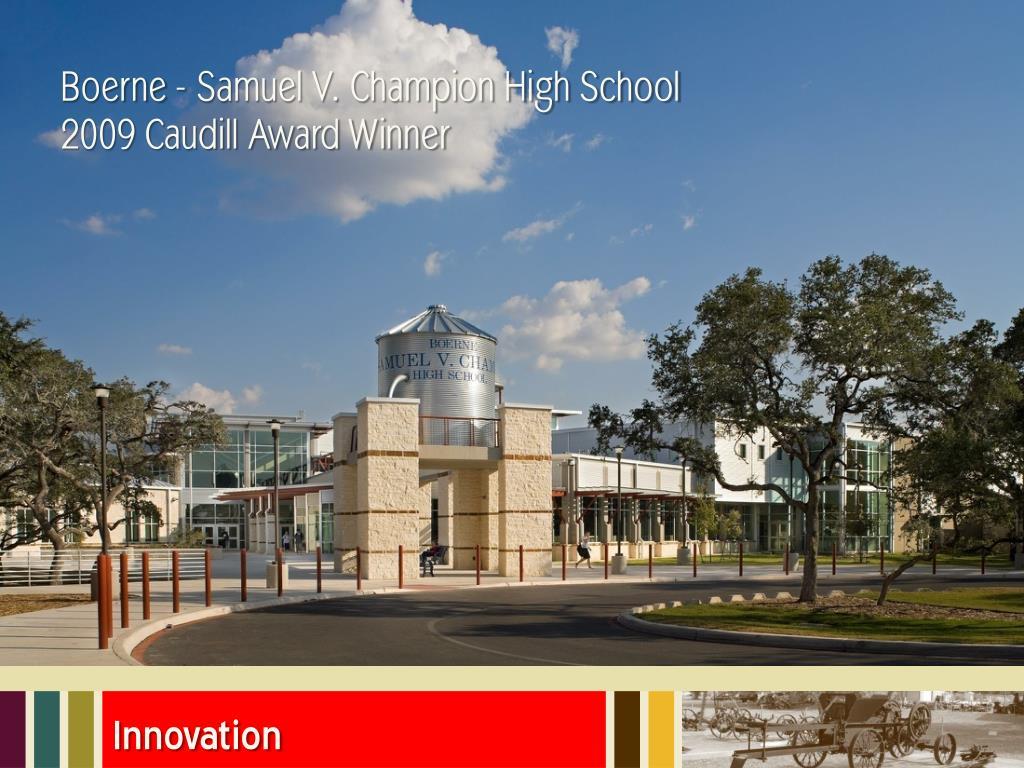 Boerne - Samuel V. Champion High School