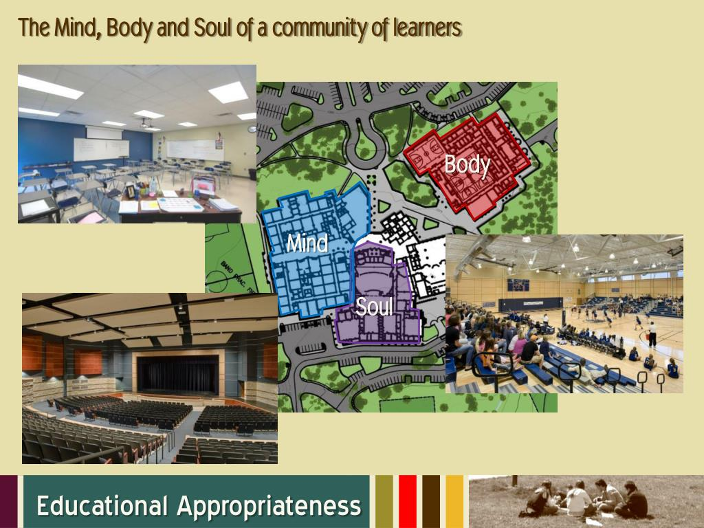 The Mind, Body and Soul of a community of learners