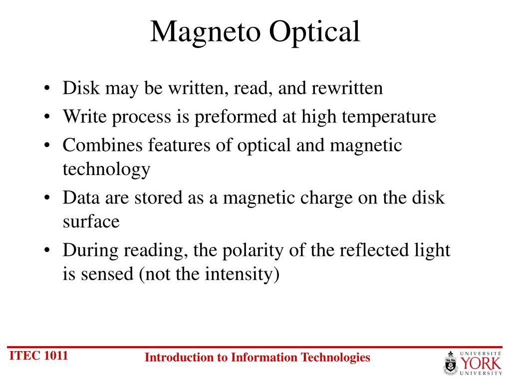 Magneto Optical