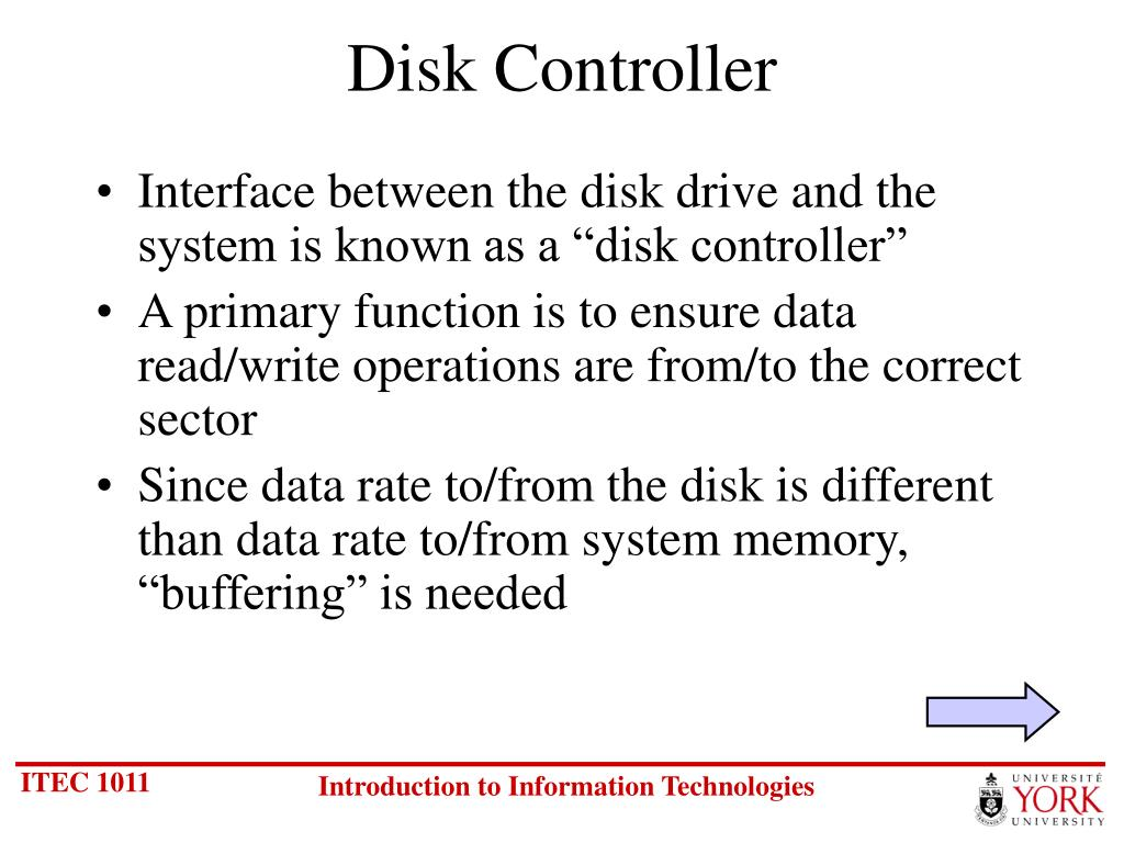 Disk Controller