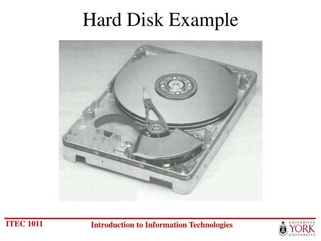 Hard Disk Example