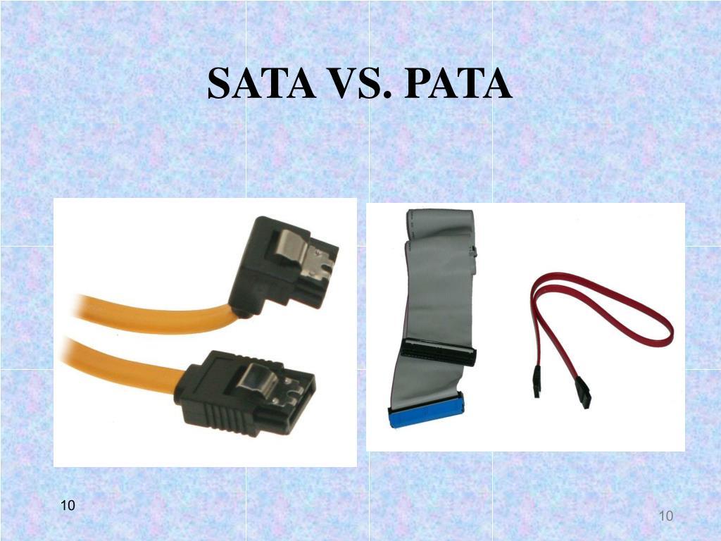 SATA VS. PATA